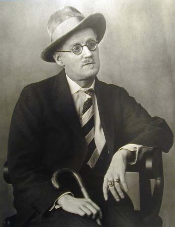 Portrait of James Joyce, by Berenice Abbott
