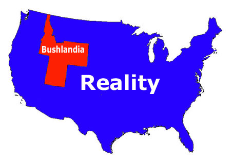 Bushlandia vs. Reality