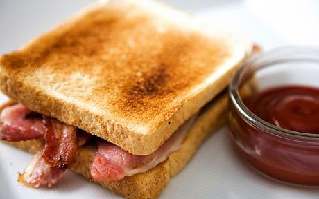 Bacon sandwich!