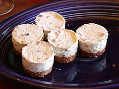 Bacon and Stilton Cheesecakes