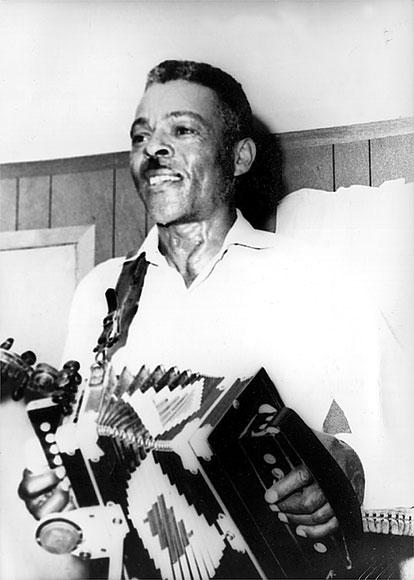 Alphonse 'Bois Sec' Ardoin, in 1971