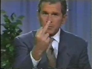 Bush's opinion of America