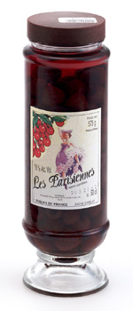 La Parisienne Cherries in Kirsch