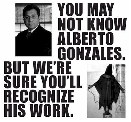 You may not know Alberto Gonzales, but we're sure you'll recognize his work.