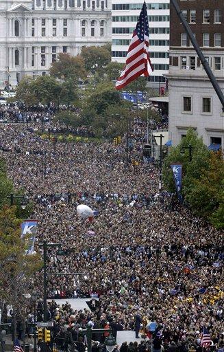 John Kerry in Philadelphia, 10/25/2004