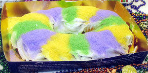 A King Cake from Maurice's