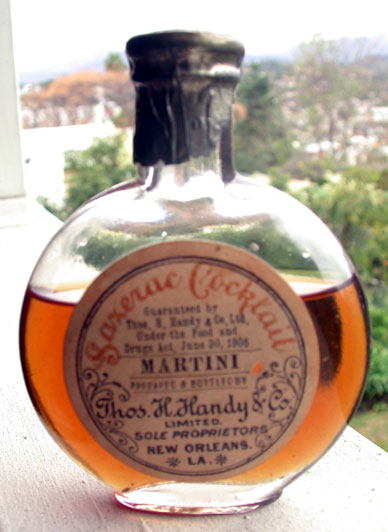 Bottled 'Sazerac Cocktail', Thos. Handy Co., c. 1906-1919