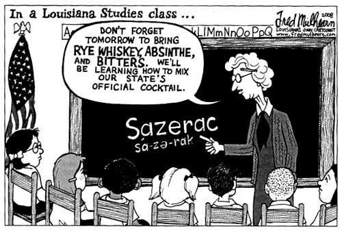 Sazerac in history class!