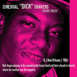 Dinneral 'Dick' Shavers, 1980-2005