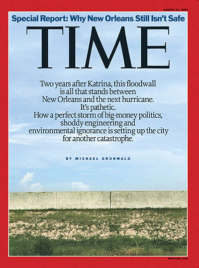 TIME Magazine - Why New Orleans Still Isn't Safe