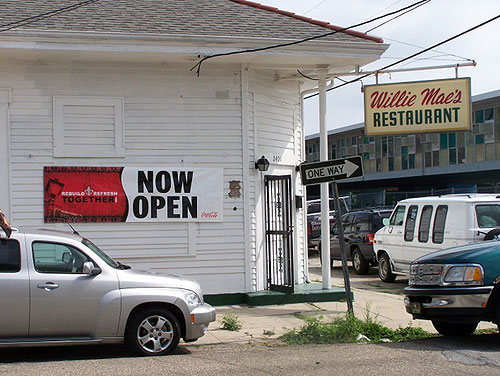 Willie  Mae's Scotch House reopens!