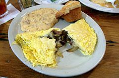 Tasso omelette