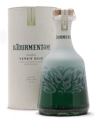 'Le Tourment Vert,'  being marketed as an absinthe but is in fact a mouthwash-flavored liqueur that is one of the worst on the market