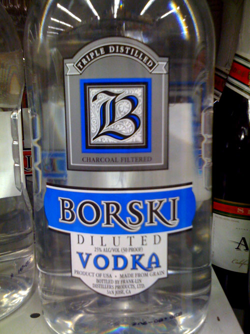 Borski Diluted Vodka