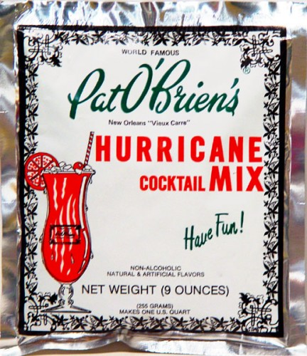 "Powdered ""Hurricane Mix"" ... ick"