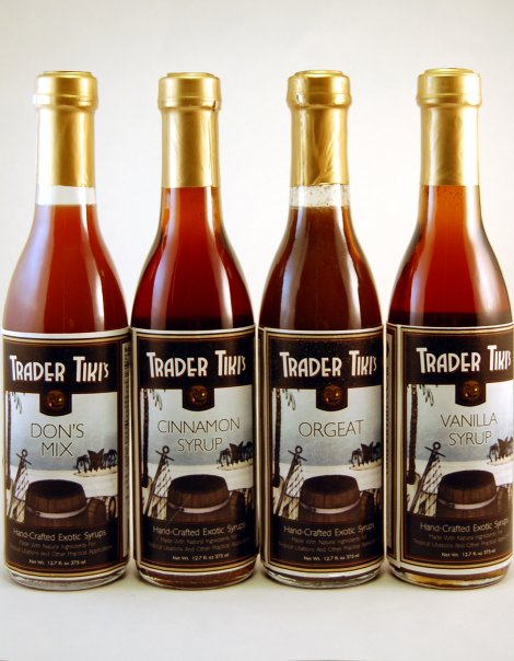 Trader Tiki's Syrups